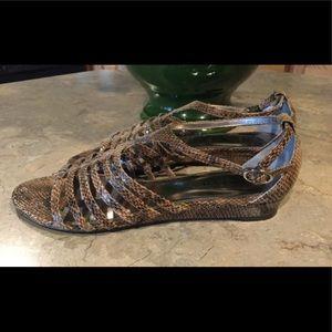 Alfani Leather Gladiator Sandals